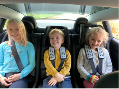 If you didn't think you could fit multiple car seats in an Electric car, you're in for a shock