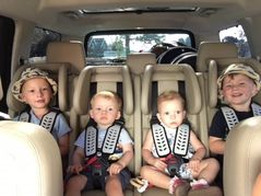 4 Child Seat MM 1320 in a Discovery