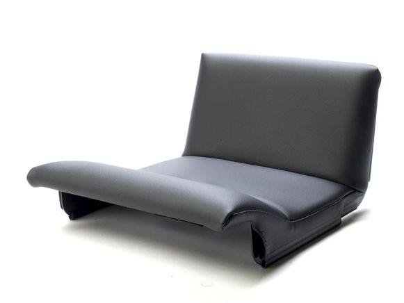 Low Profile Seat Cushion using adjusters