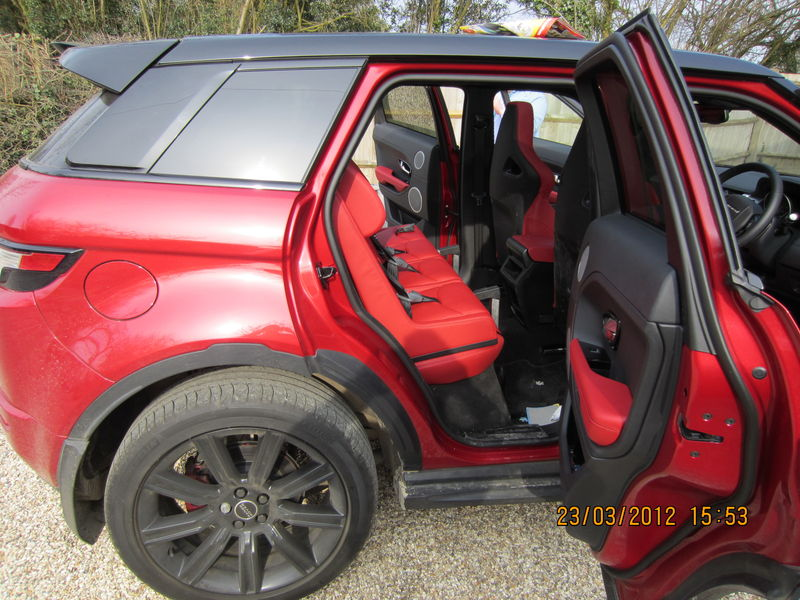 Baby Car Seat For Evoque