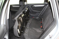 Lift up/remove the back seats of your car