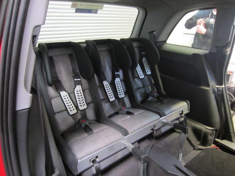 Multimac Rear Seats Of Zafira Child Car Seats