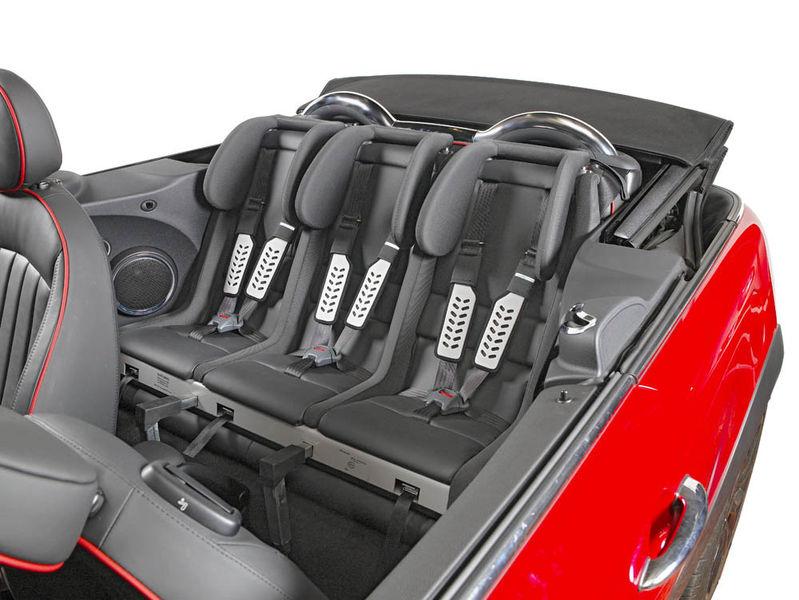 multimac mini john cooper works convertible child car seats. Black Bedroom Furniture Sets. Home Design Ideas